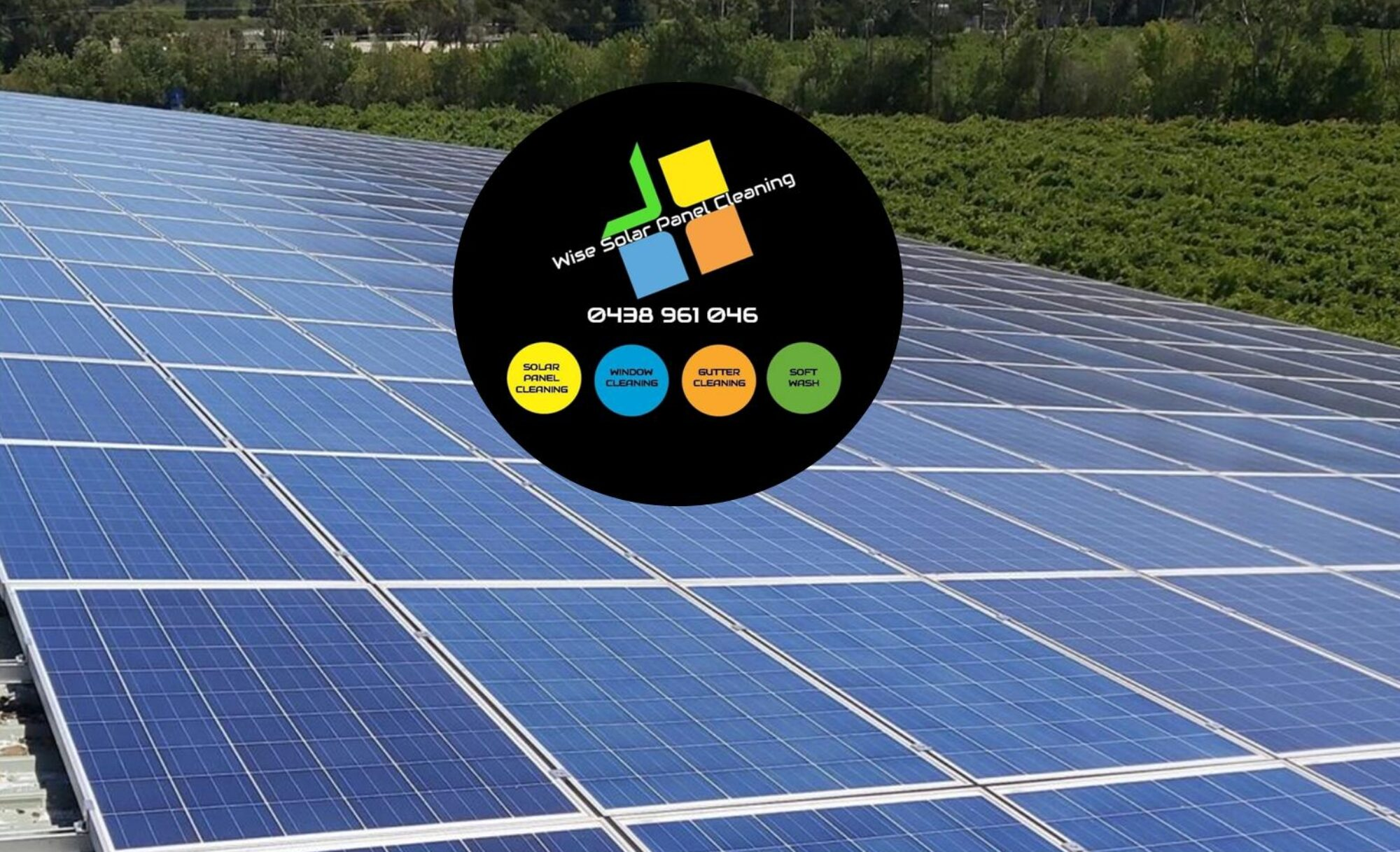 Wise Solar Panel Cleaning